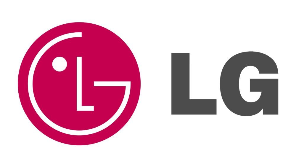 LG logo face represents the brand's connection with customers