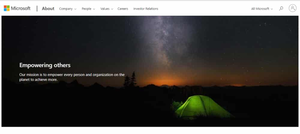 Microsoft brand imagery