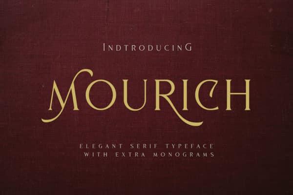 Mourich Elegant Font