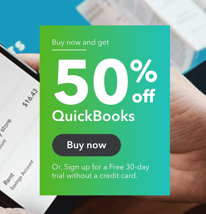 Quickbooks free trial for securing B2B leads