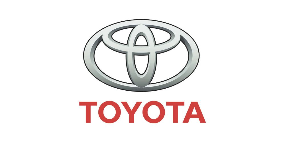 Toyota logo eclipses represent the company's customers, ideals and potential