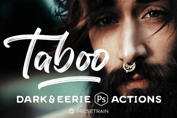 Taboo – Dark Fantasy Actions for Photoshop