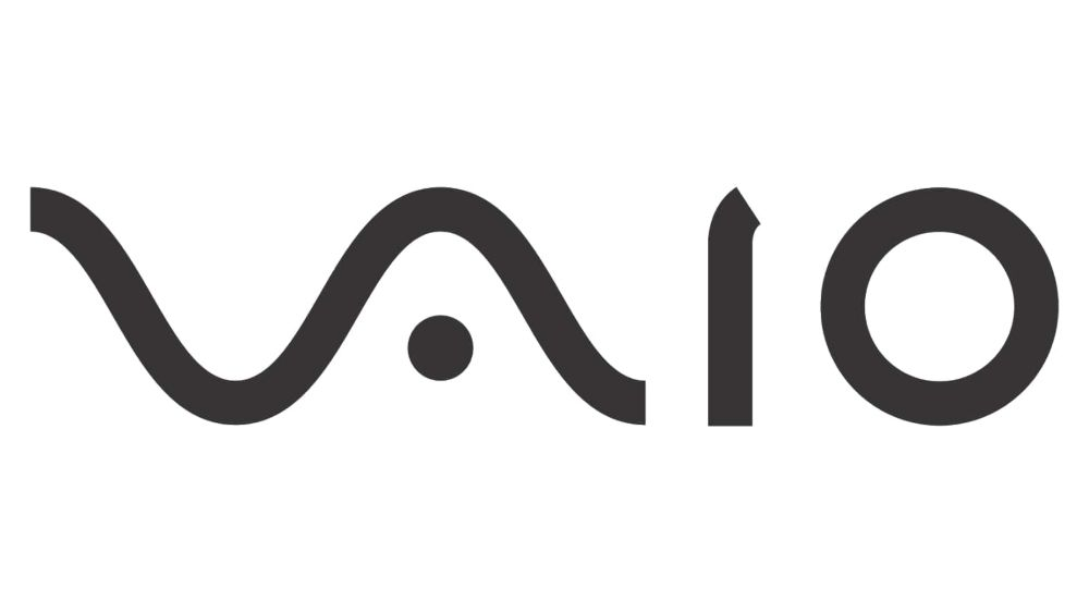 VAIO logo contains digital and analog symbols