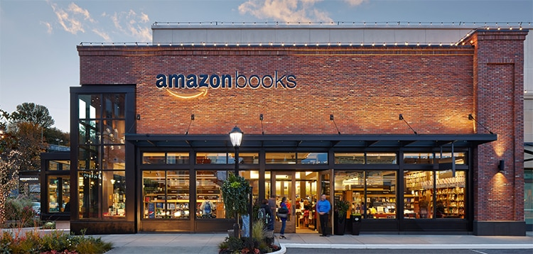 Amazon bookstore in Seattle highlights retail branding