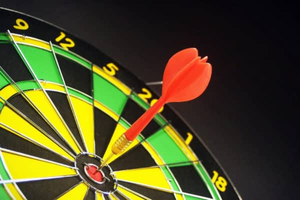 Lead generation target hit in center