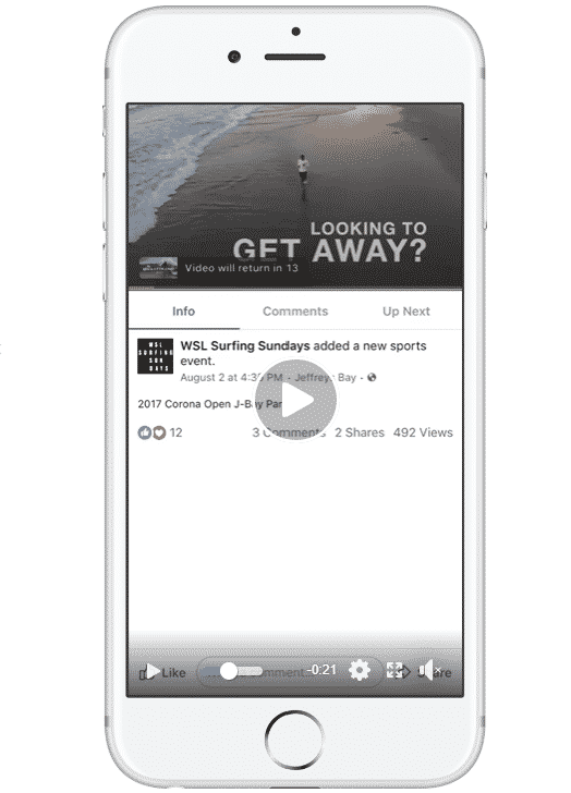 Facebook in-stream video ads are one way to make money from your live streams