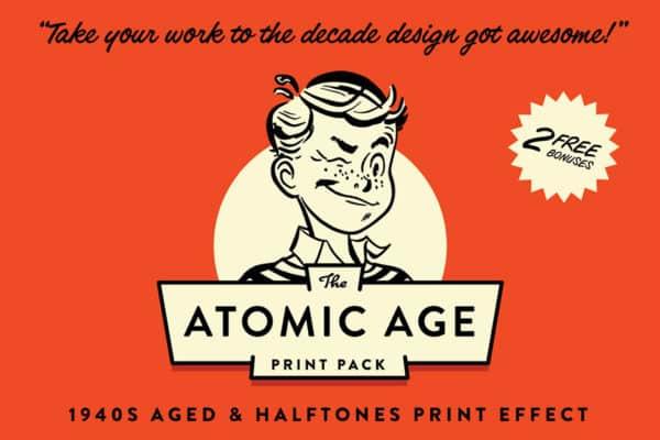 Atomic Age Print Pack