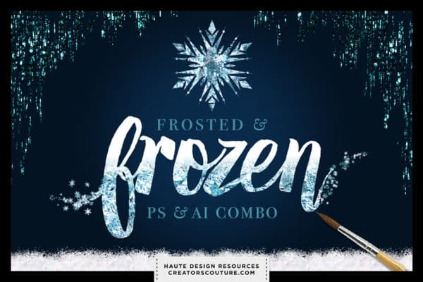 Frosted & Frozen Creative Kit Combo