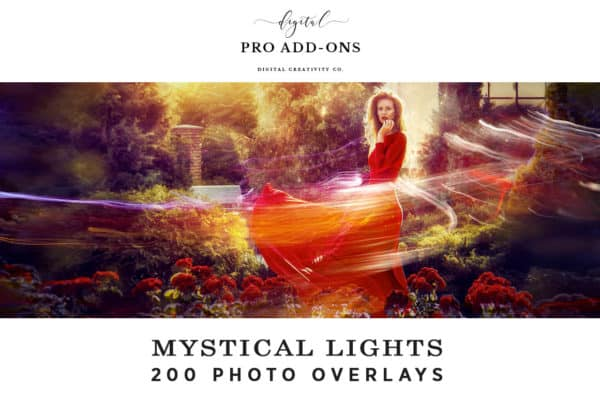 Mystical Lights 200 Photo Overlays
