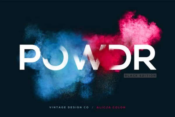 POWDR – Black Edition