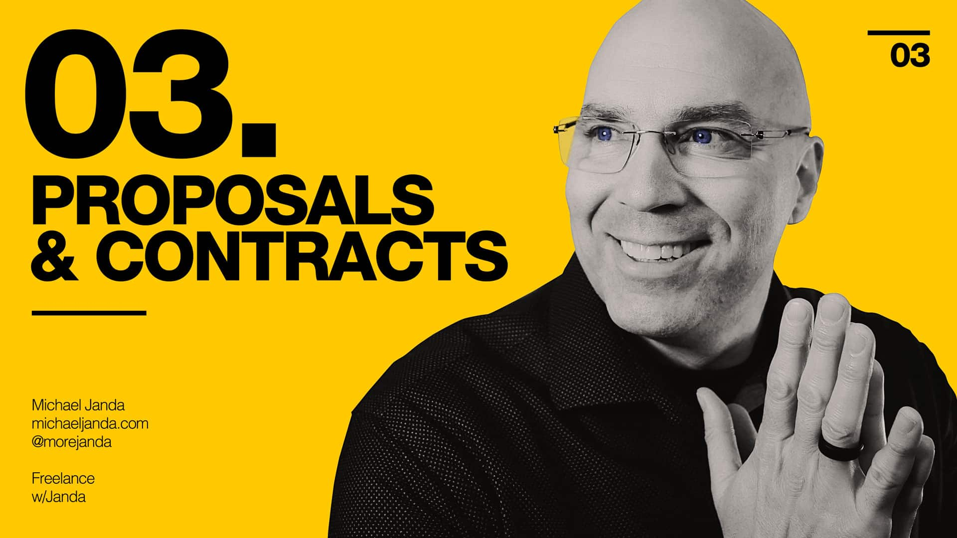 Freelance with Janda - Proposals and Contracts