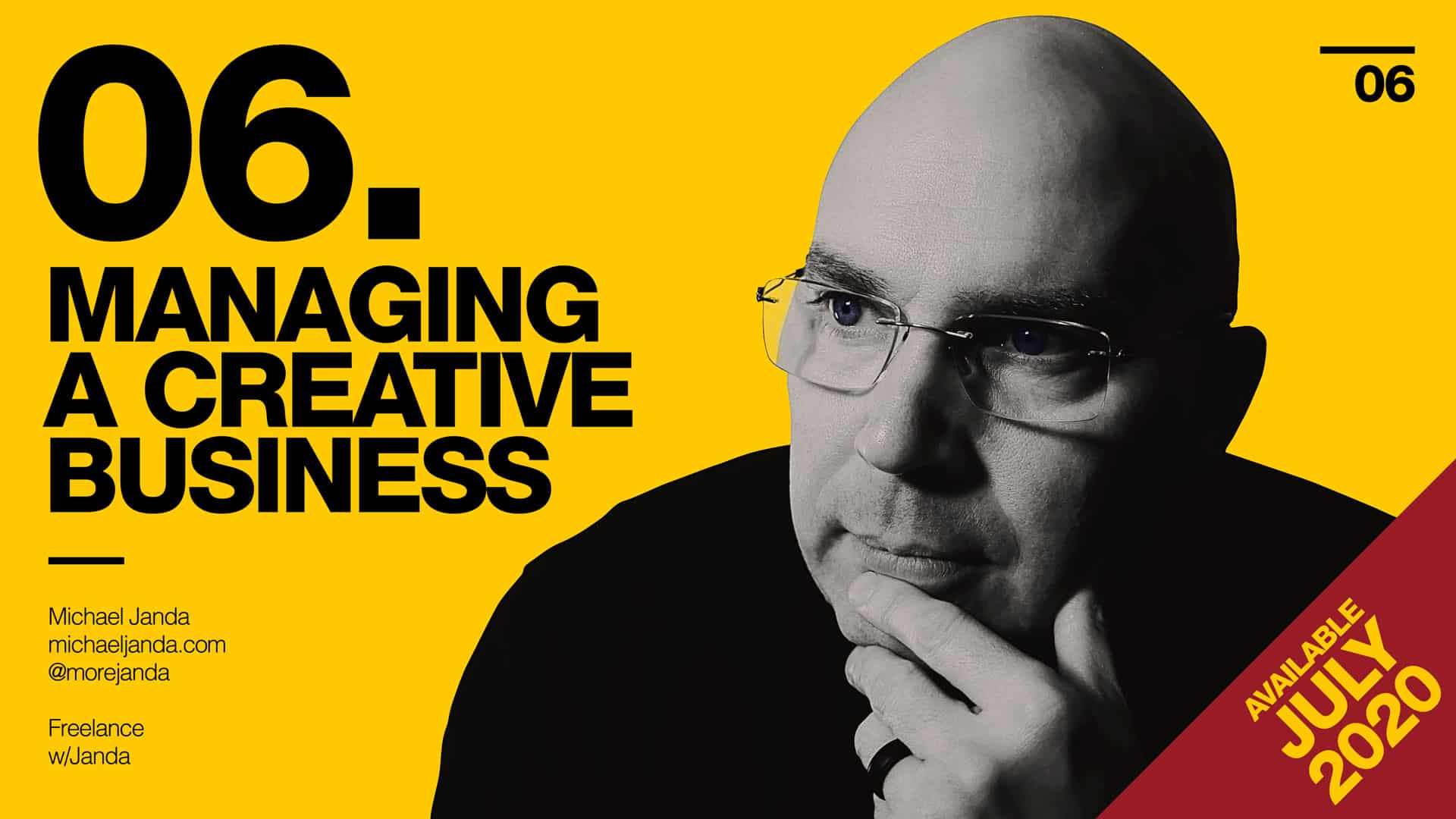 Freelance with Janda - Managing a Creative Business