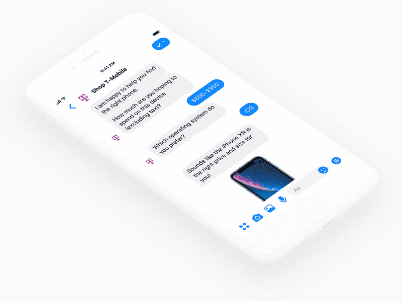 Chatfuel chatbot offers geatures such as FAQs for engaging customers