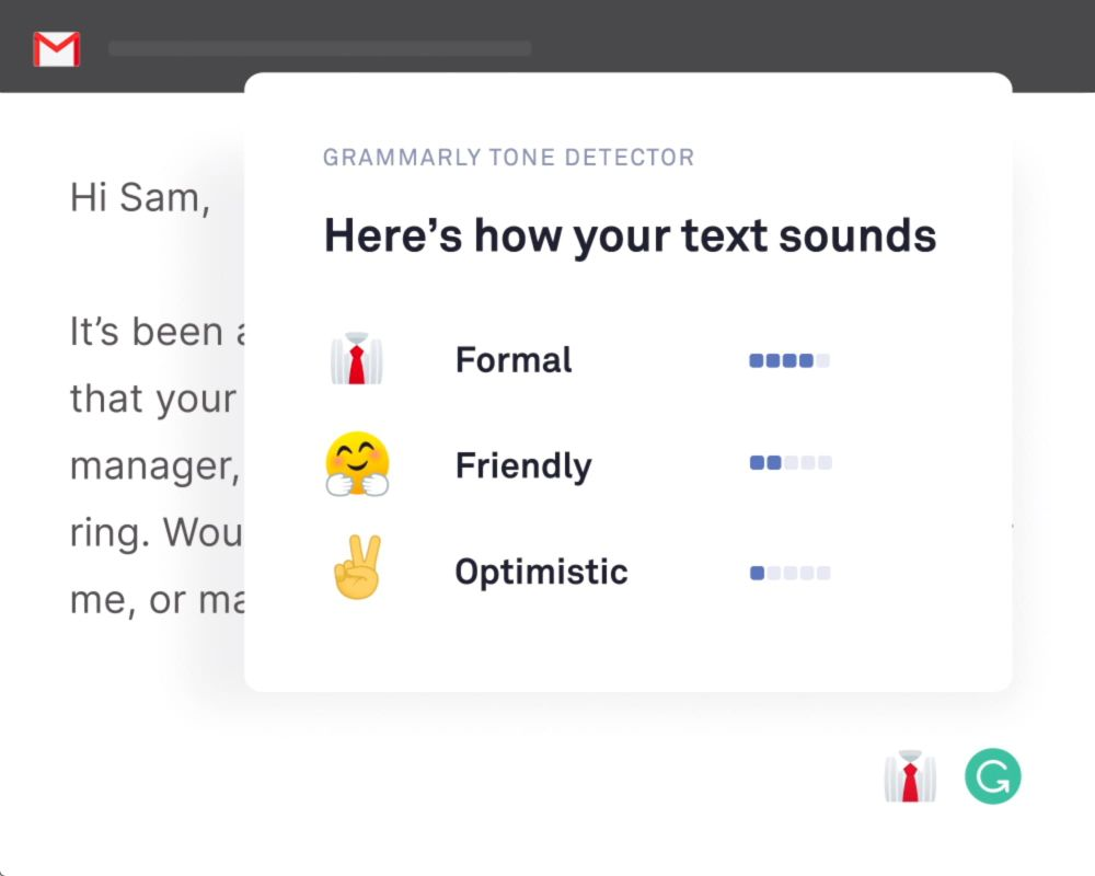 Grammarly remote work tool for productivity