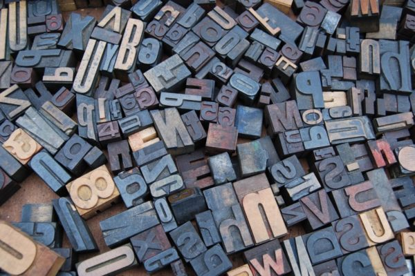 Letters in Different Fonts - 9 Laws of Typography That Every App Designer Should Know