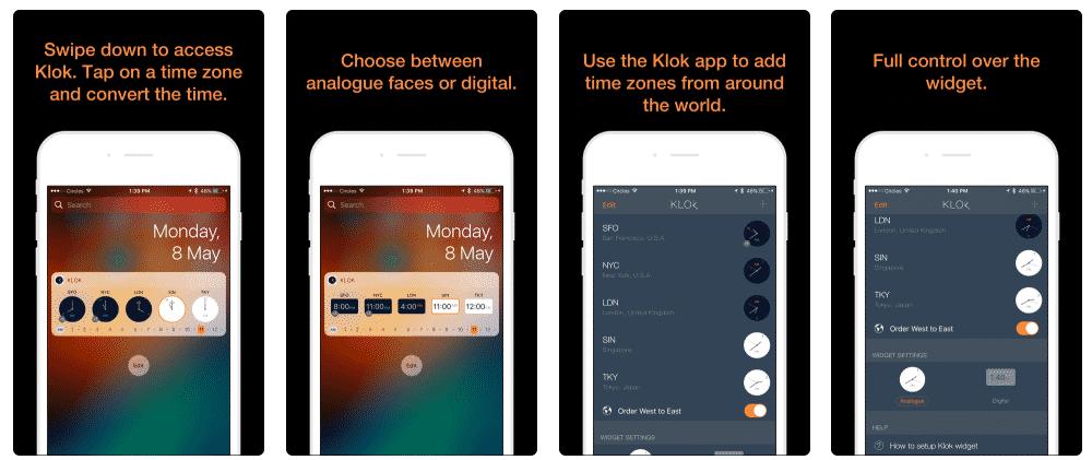 Klok remote work tool for communication