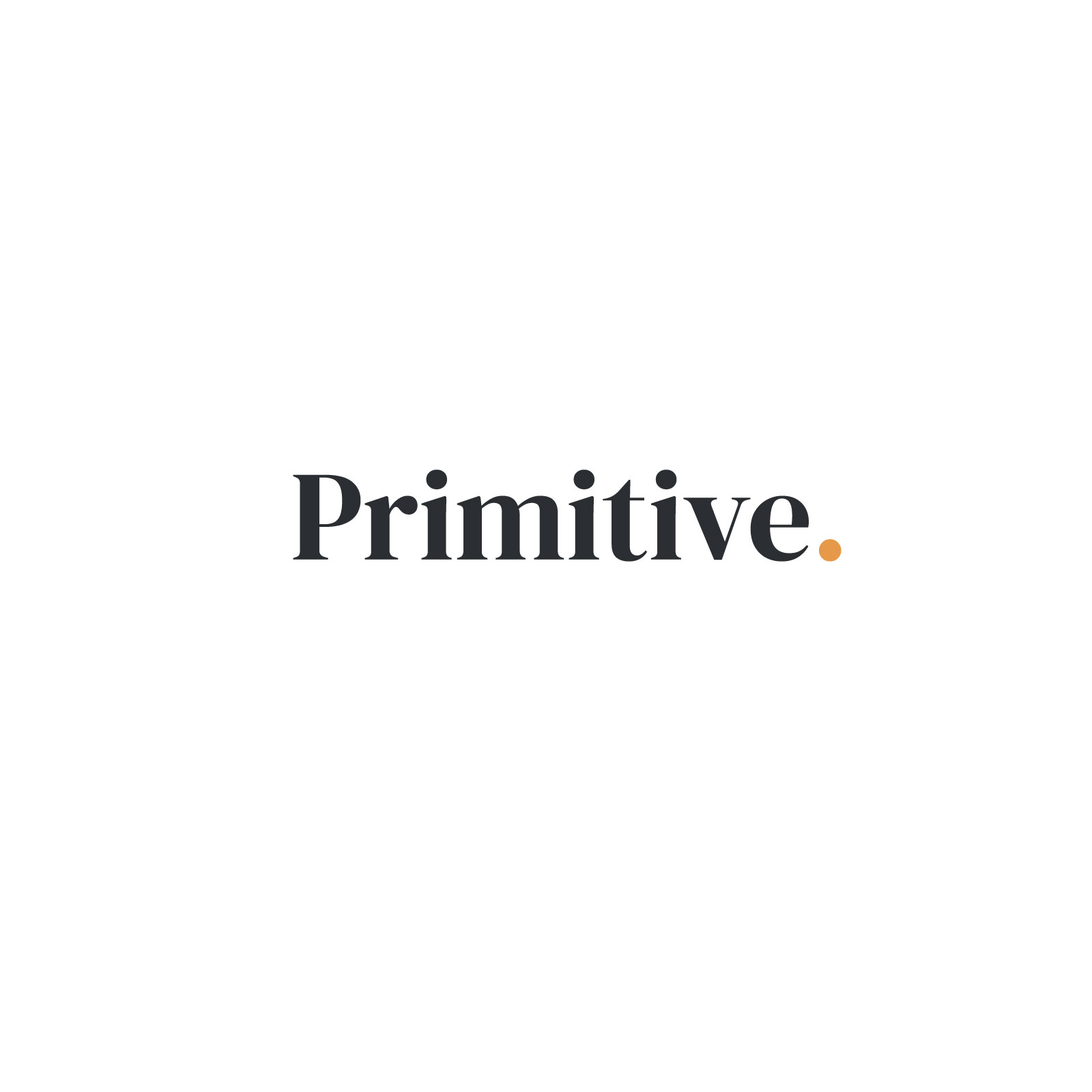 Primitive Logo on White