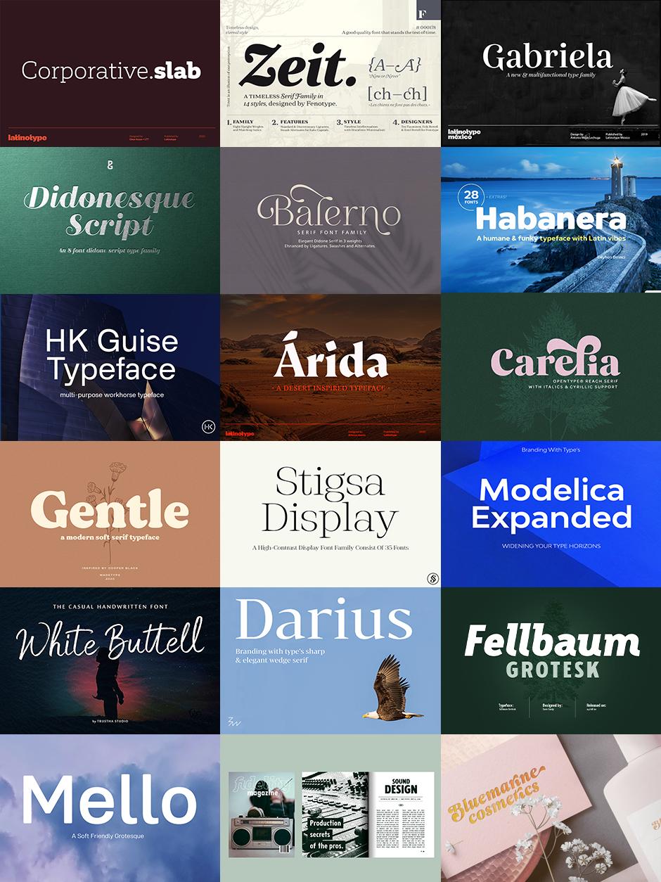Versatile Font Bundle