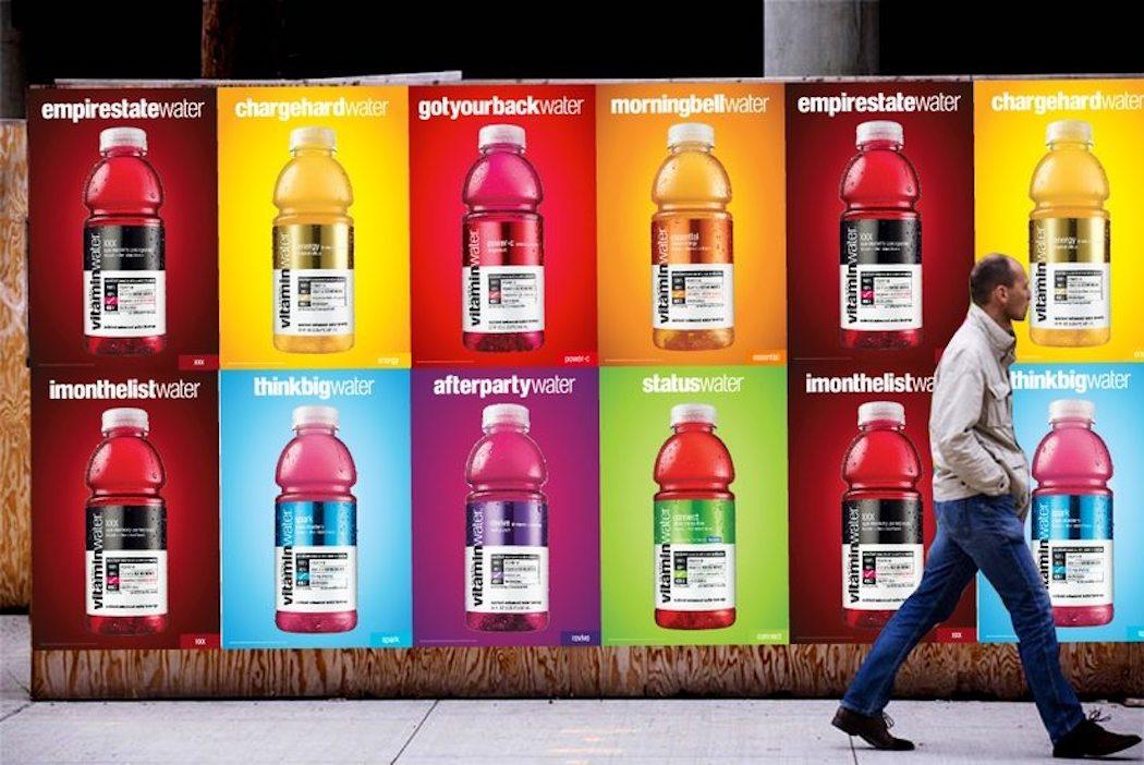 Vitamin Water wild poster guerilla marketing campaign