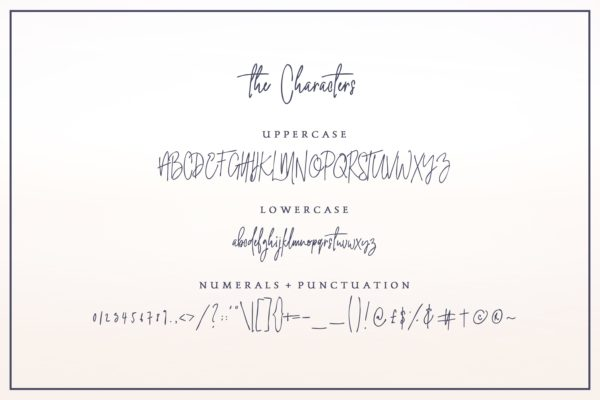 Heaven And Earth – Handwritten Font