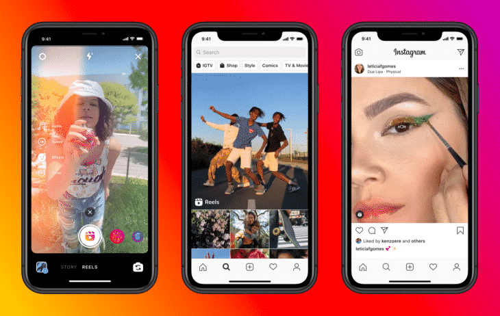 Instagram Reels short form videos for marketing