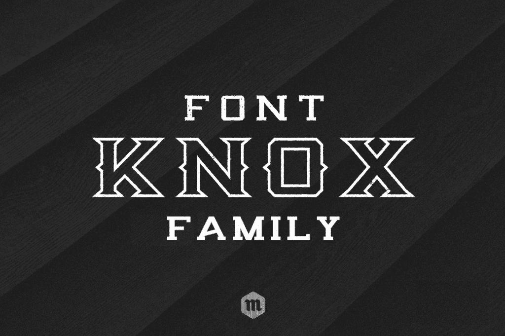 Knox Serif Typeface