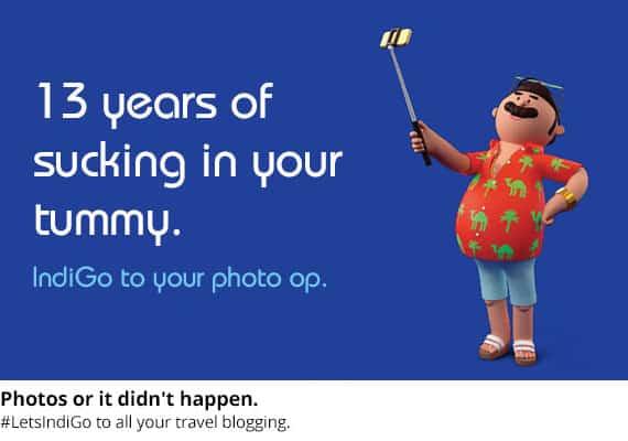 A campanha da IndiGo usou conteúdo humorístico de acordo com a imagem da marca