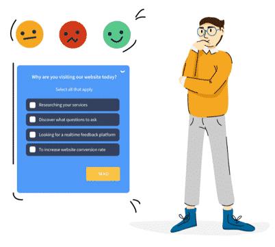 Qualaroo website survey