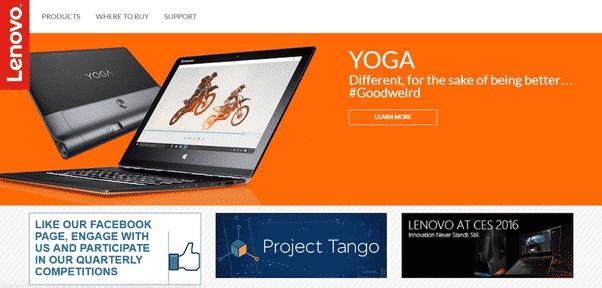 Lenovo social media engagement