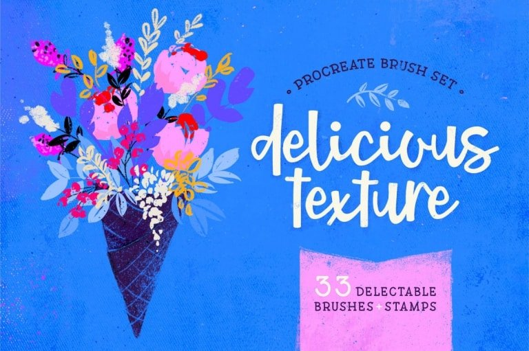 Delicious Texture Brushes & Stamps for Procreate