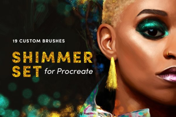 Shimmer Set – Procreate Brushes