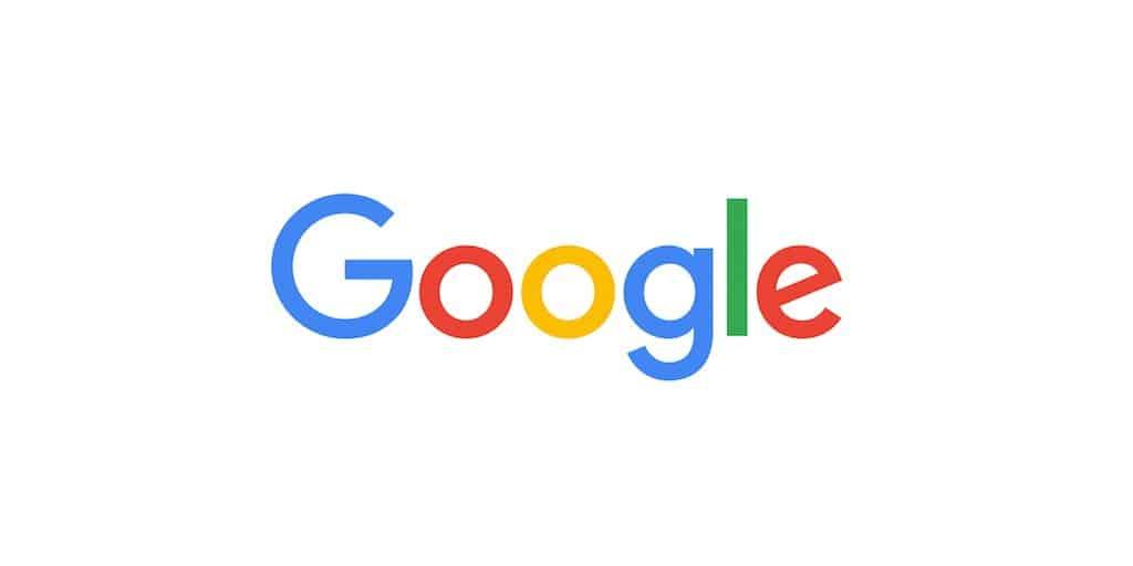 The Google Logo as of 2015, featuring sans-serif logo font