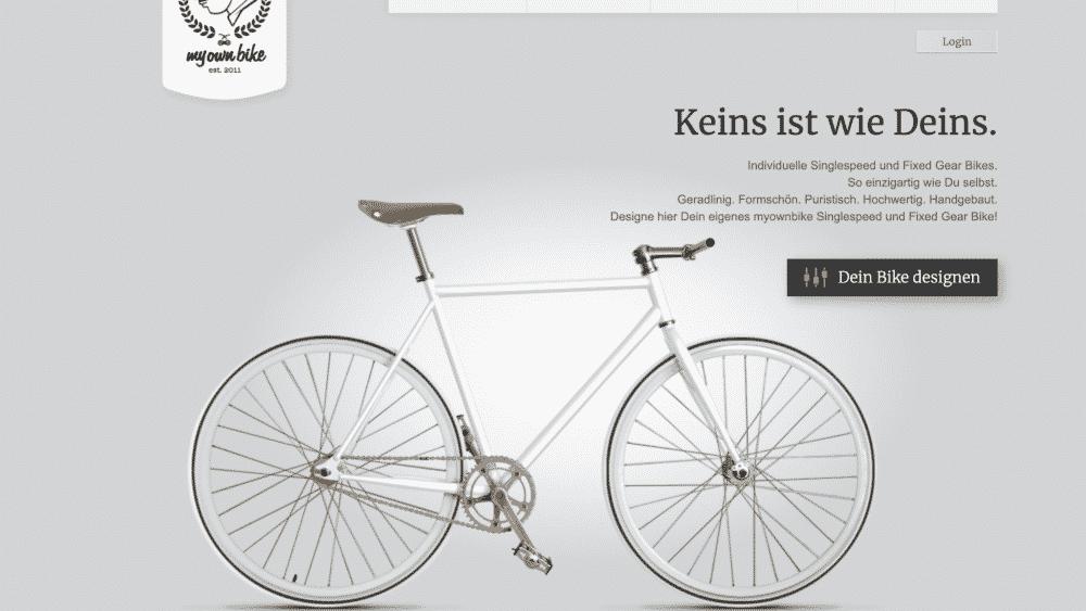 Website design using gray for colour psychology