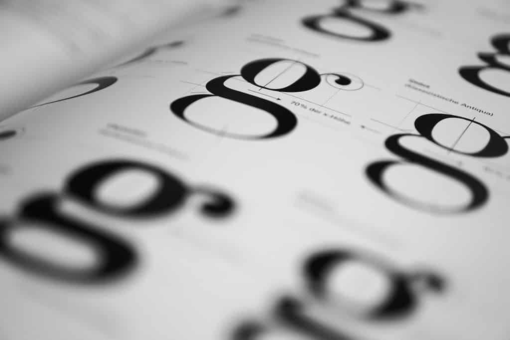 Typography is a main component of brand style guidelines