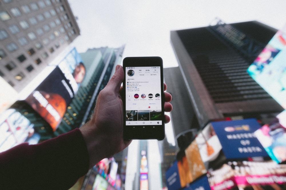 internet marketing Instagram content