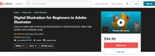 Digital Illustration for Beginners in Adobe Illustrator