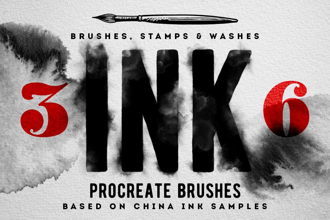 Procreate Ink Brushes