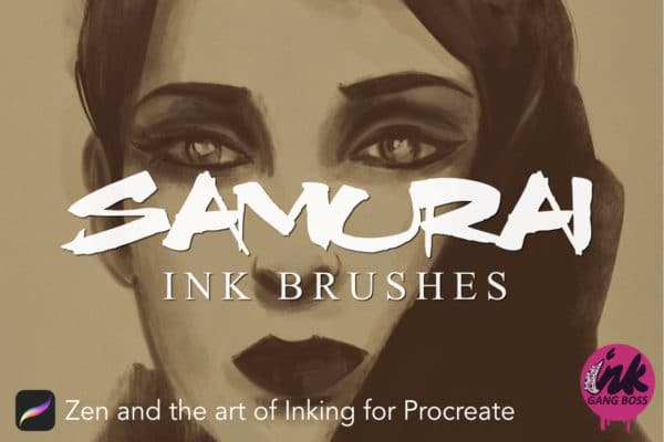 Procreate Samurai Ink Brushes