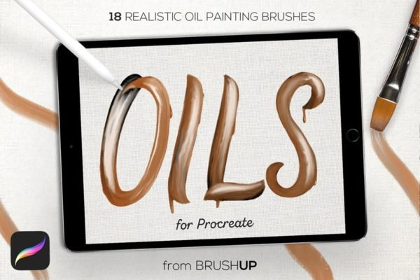 Real Oils for Procreate