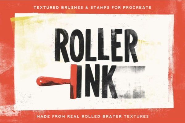 Roller Ink Procreate Pack