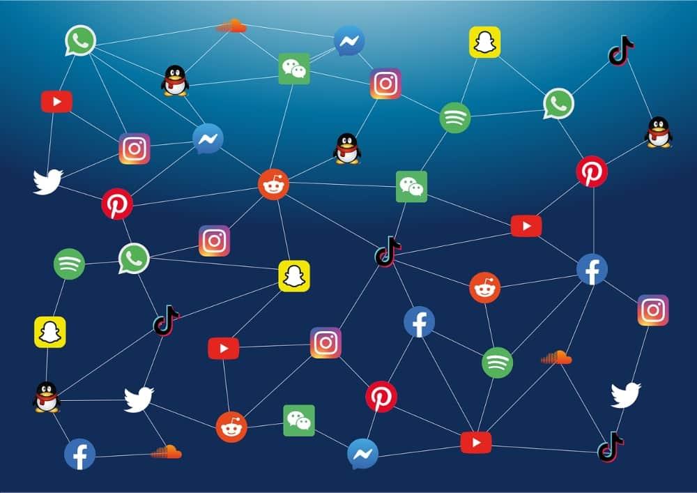 Traffic driven by cross-platform social content