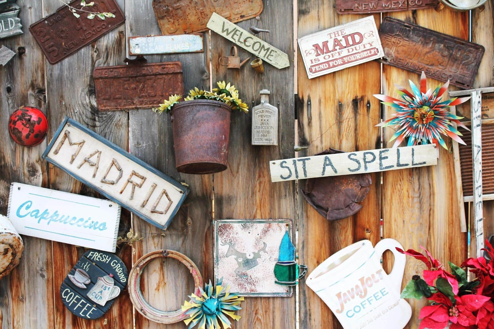 Mood Boards for Designers - Quirky and Rustic