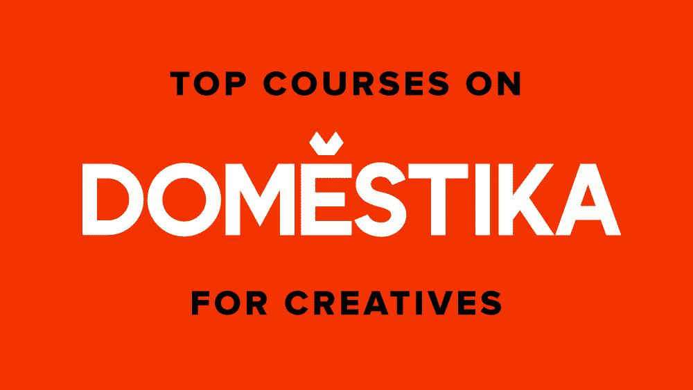 Most Popular Creative Courses on Domestika