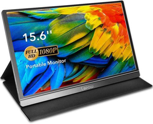 Lepow 15.6-Inch USB-C Portable Monitor