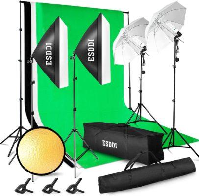 ESDDI Photography Lighting Kit