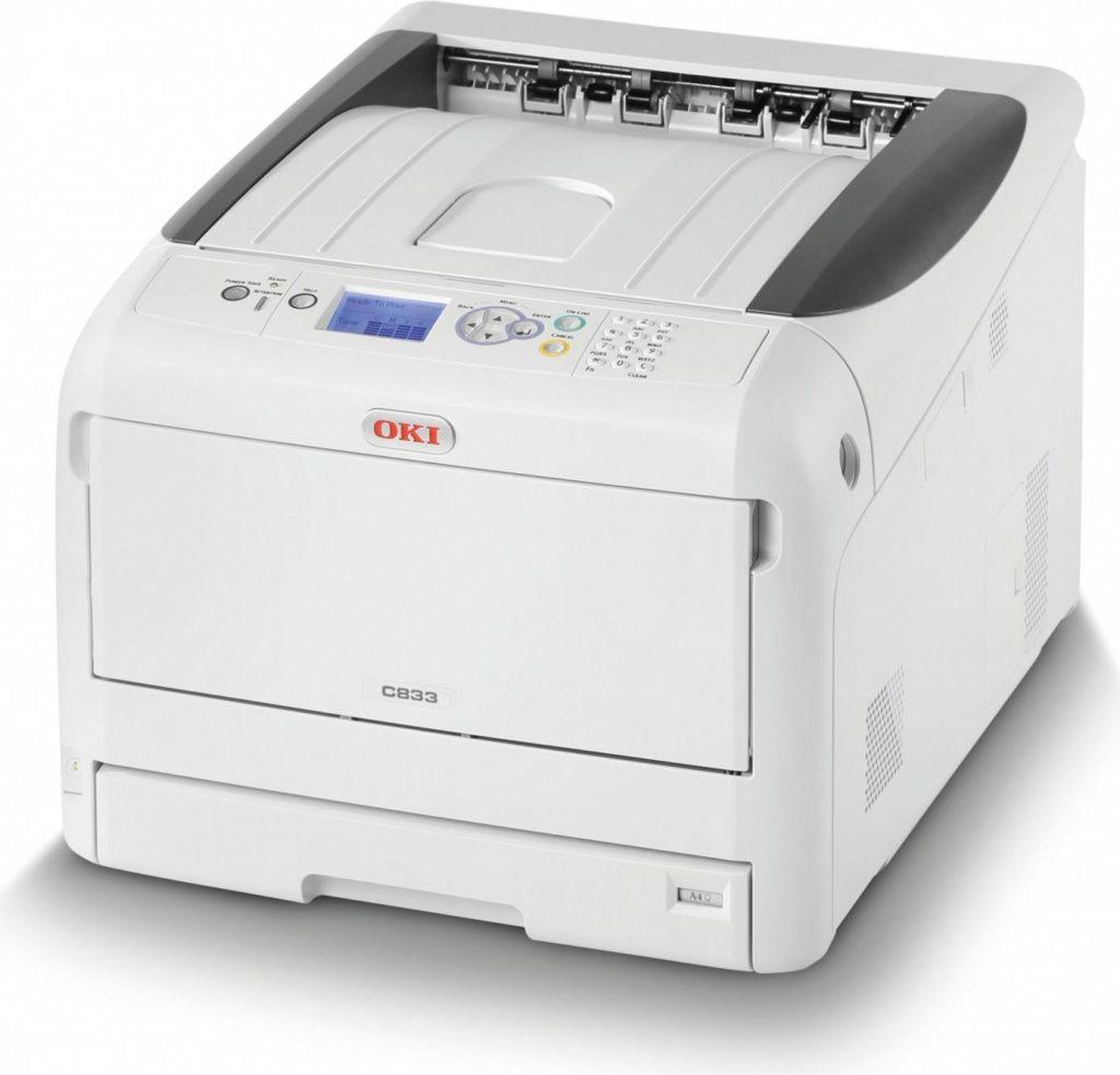 Oki c833n Printer