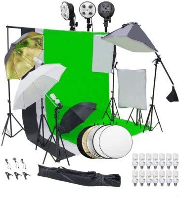 Wisamic Photography Softbox Lighting Kit