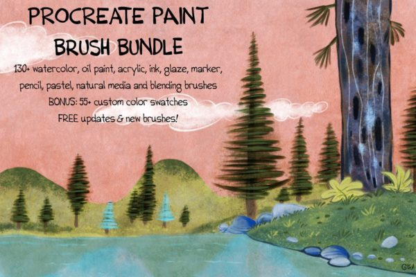 PAINT Bundle 150 Procreate Brush Bundle