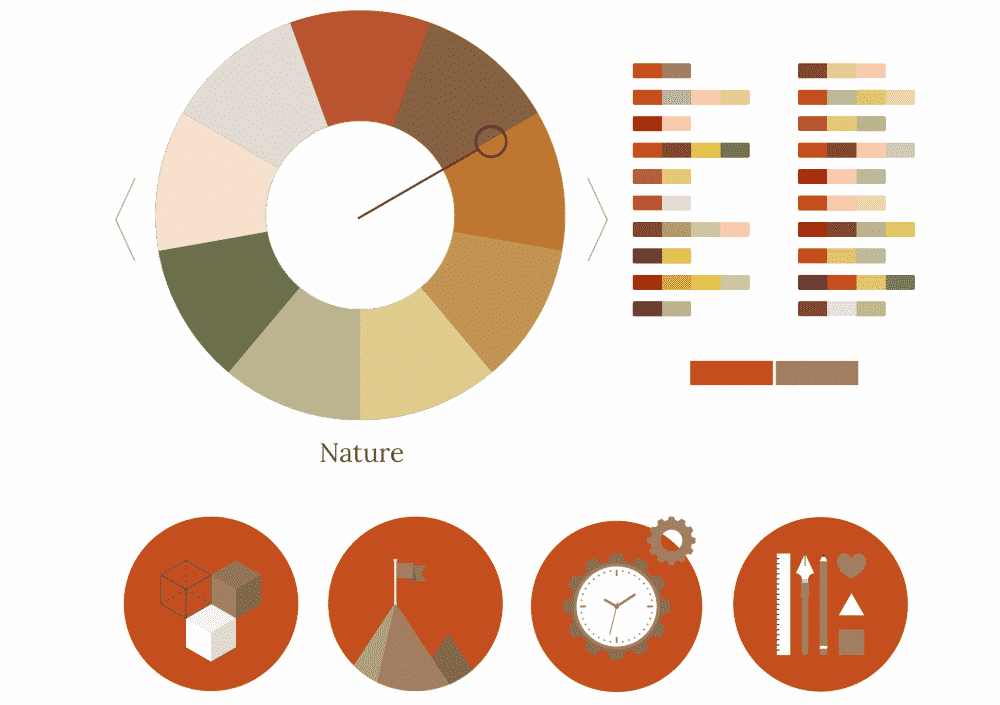 Color Supply nature color combination