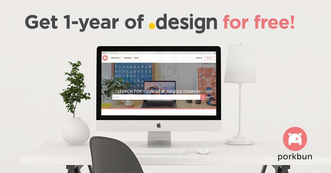 Free .Design Domain for Designers